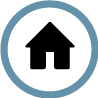 Household/domestic waste collection icon.
